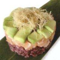 Chirashi (ciotola di riso con pesce)